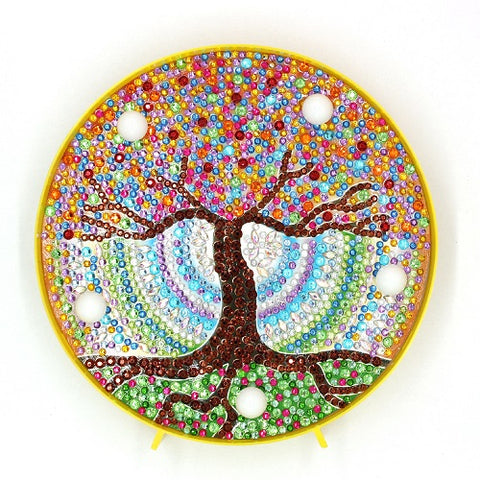 Diamond Painting Fortune Tree Diamond Painting Light - OLOEE