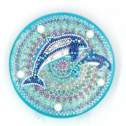 Diamond Painting Dolphin Diamond Painting Light - OLOEE