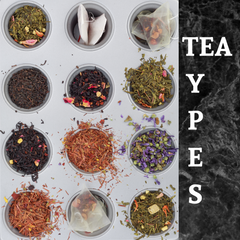 7 Different Types of Tea
