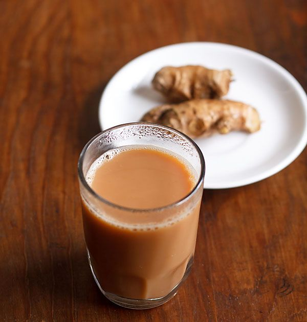 Indian chai with ginger (NO COPY RIGHT INFRINGEMENT INTENDED)