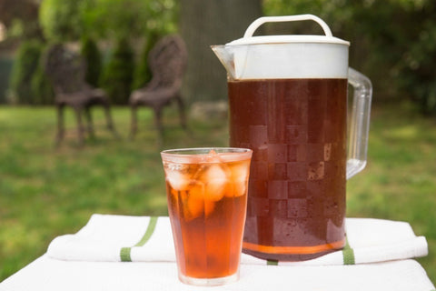 Cold brew tea pitcher (No copyright infringement intended)
