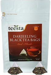Tea bags - Darjeeling Black Tea Leaves