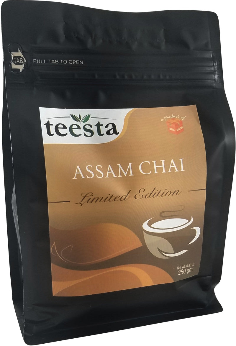 Premium CTC Assam Black Tea - Freshcarton