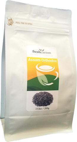 Assam Orthodox Loose Leaf Black Tea | 7.53oz/200gm - Freshcarton