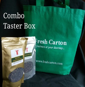 Second Flush - Combo Pack - Mim Darjeeling Black Tea with FREE Tote bag - Freshcarton