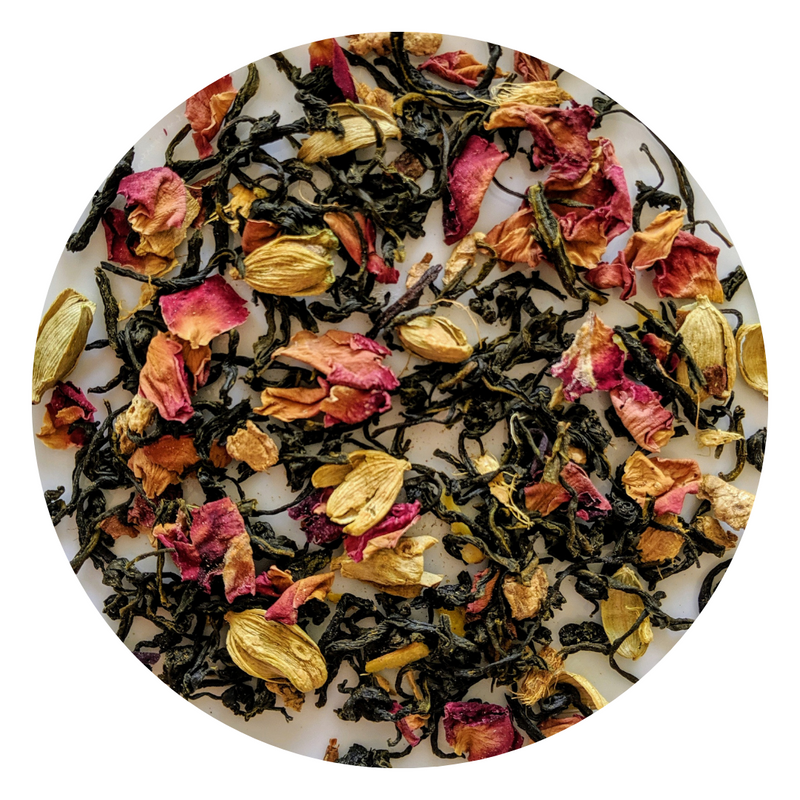 Herbal Tea Collection - KASHMIRI KAHWA GREEN TEA