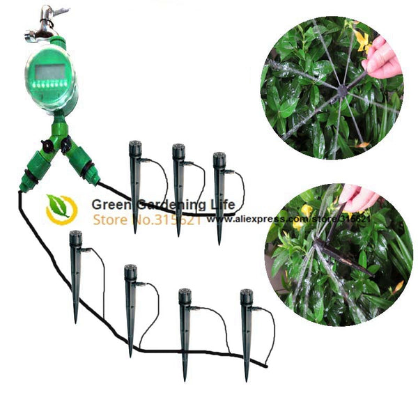 4 7mm 20m Automatic Irrigation System Diy Micro Irrigation Systems