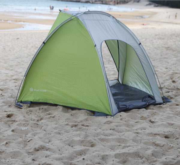 STARHOME Outdoor Beach Tent 3 Season 2 Person Waterproof Tent One Bedroom UV Shade C&ing Tent & STARHOME Outdoor Beach Tent 3 Season 2 Person Waterproof Tent One ...