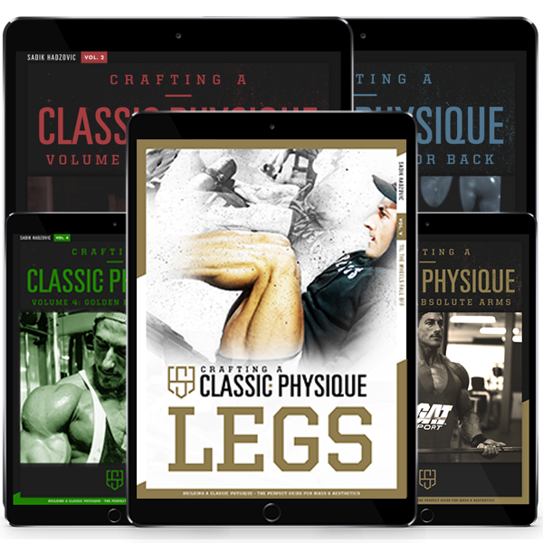 Legs/Shoulders/Arms/Chest/Back eBook Combo