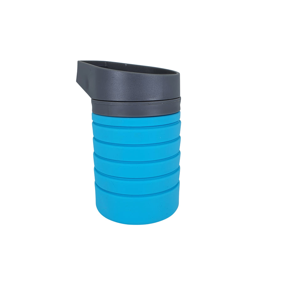 Flat Stacks Water Bottle