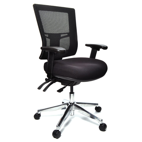 Buro Metro II 24/7 Mesh Chair Black
