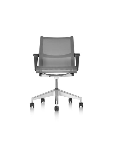 Herman Miller Setu - Graphite + Arms