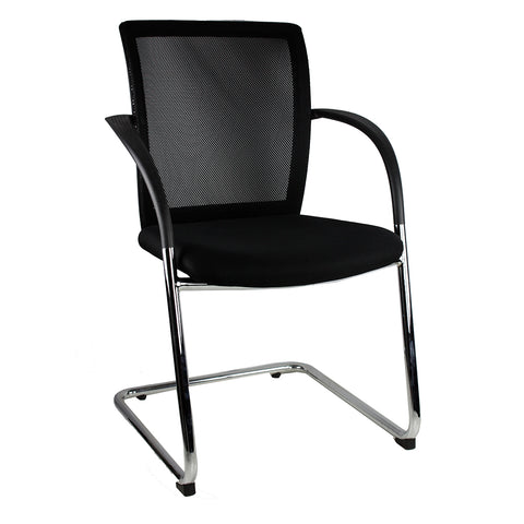 R2G | iMesh Cantilever / Black | NPS Commercial Furniture Townsville