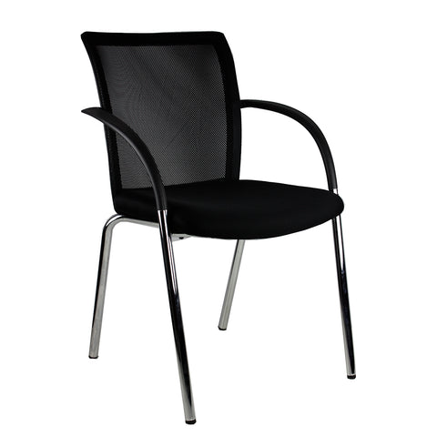R2G | iMesh 4 Leg / Black | NPS Commercial Furniture Townsville