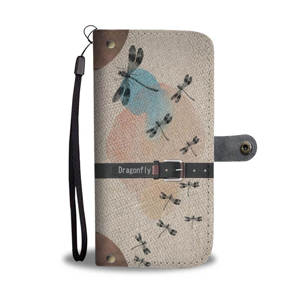 Awesome Dragonfly Phone Wallet Case - Available for All Devices