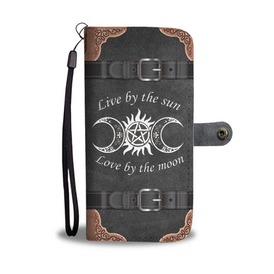 Awesome Sun/Moon Phone Wallet Case - Available for All Devices