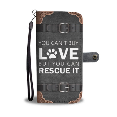 Awesome Dog Rescue Phone Wallet Case - Available for All Devices