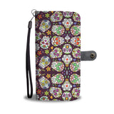 Awesome Sugar Skull Phone Wallet Case - Available for All Devices