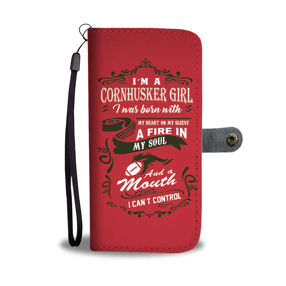 Awesome Cornhuskers Phone Wallet Case - Available for All Devices
