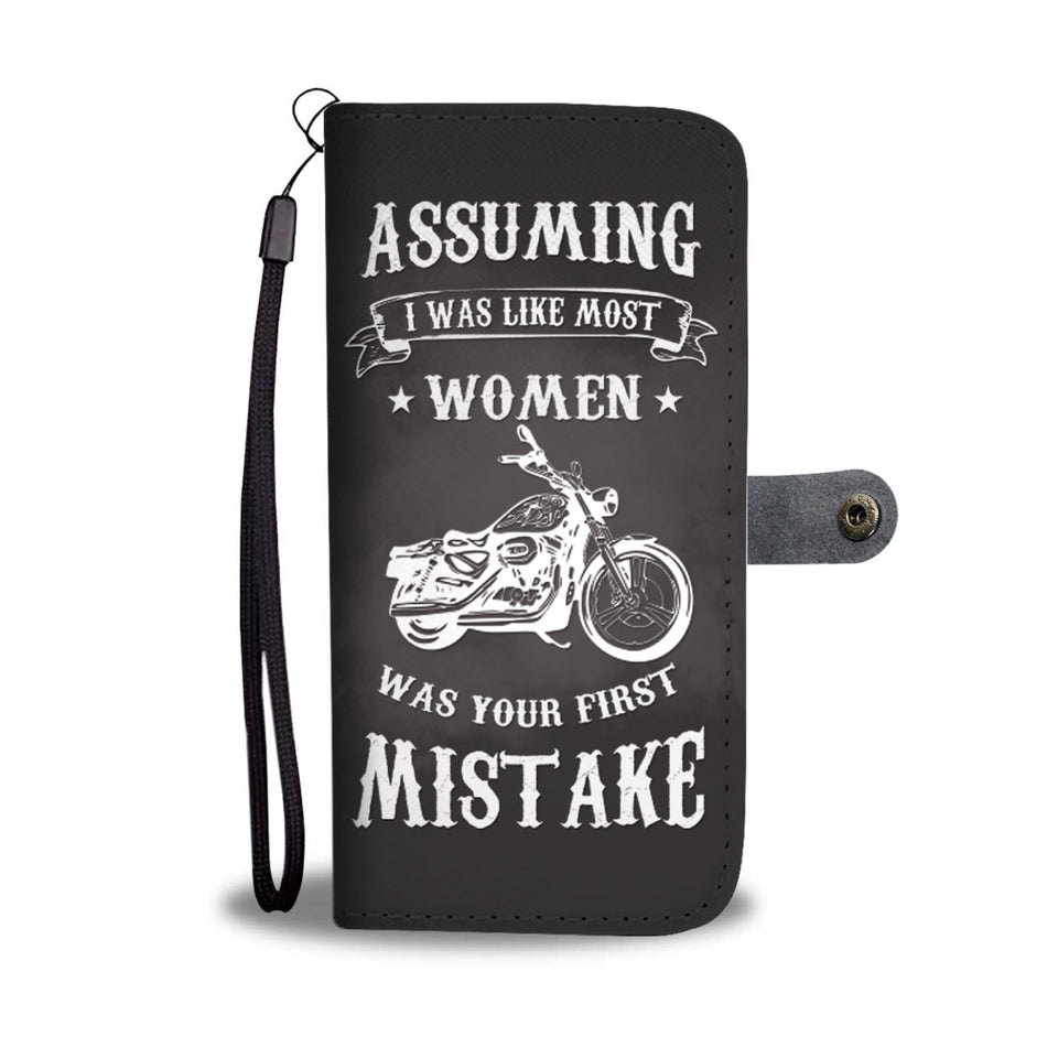 Awesome Motorcycle Wallet Case - Available for All Devices