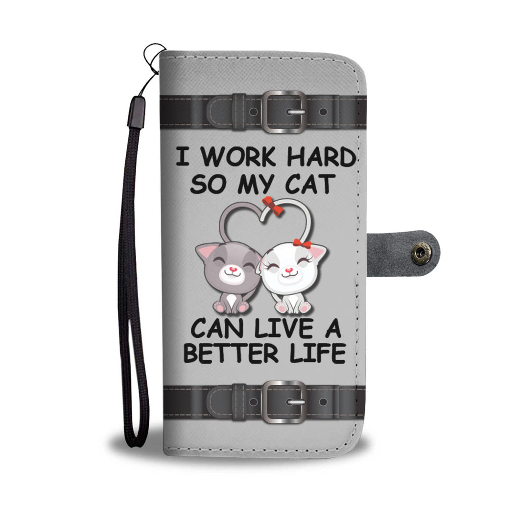 Awesome Cats Phone Wallet Case - Available for All Devices