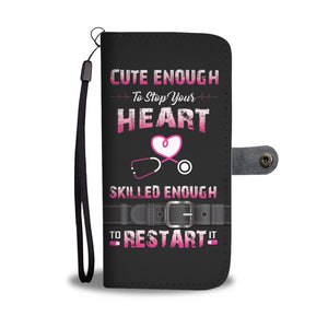 Awesome Nurses Phone Wallet Case - Available for All Devices