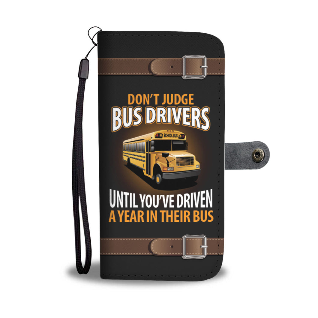 Awesome Bus Drivers Phone Wallet Case - Available for All Devices