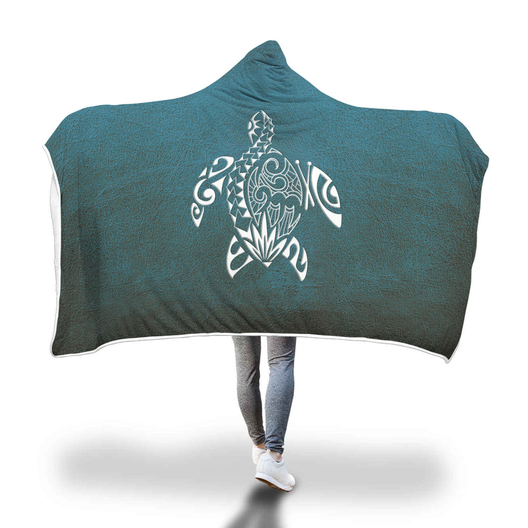 Awesome Sea Turtles Hooded Blanket