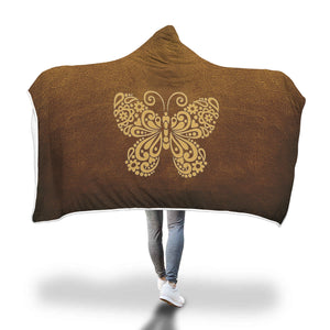 Awesome Butterfly Hooded Blanket