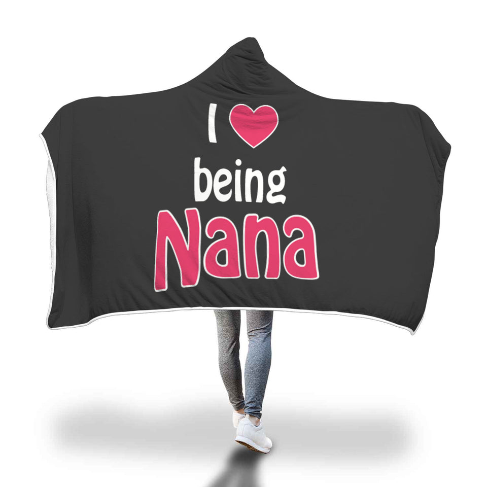 Awesome Grandma Hooded Blanket