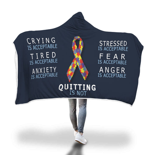 Awesome Autism Hooded Blanket
