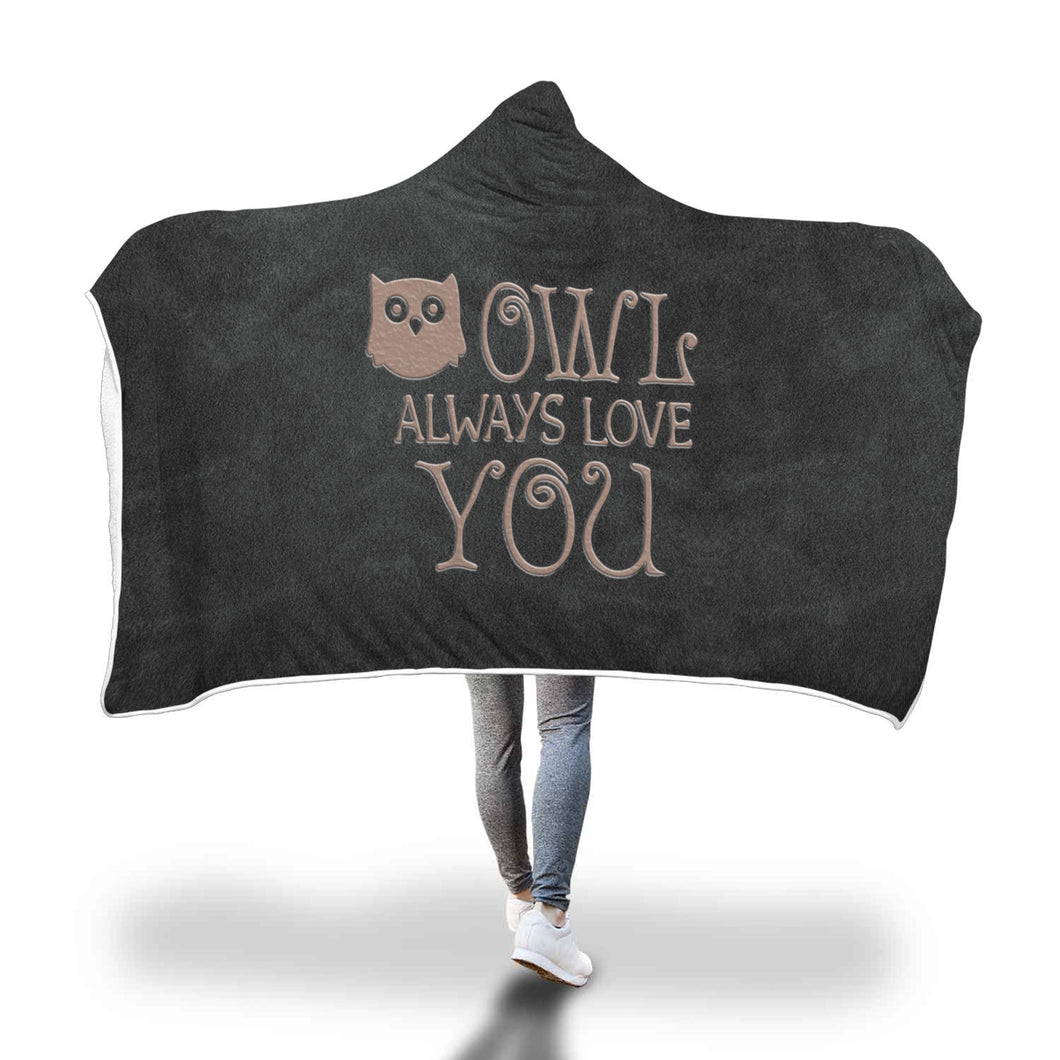 Awesome Owl Hooded Blanket