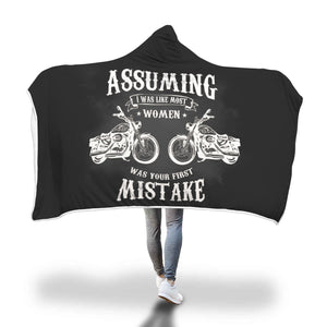 Awesome Motorcycle Hooded Blanket