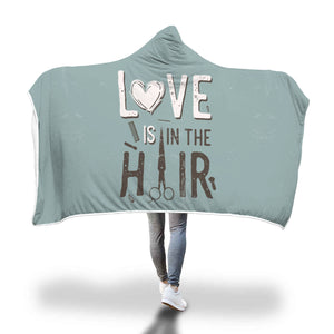 Awesome Hairstylist Hooded Blanket