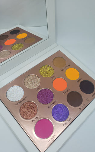 ilashflare Beauty favorites palette