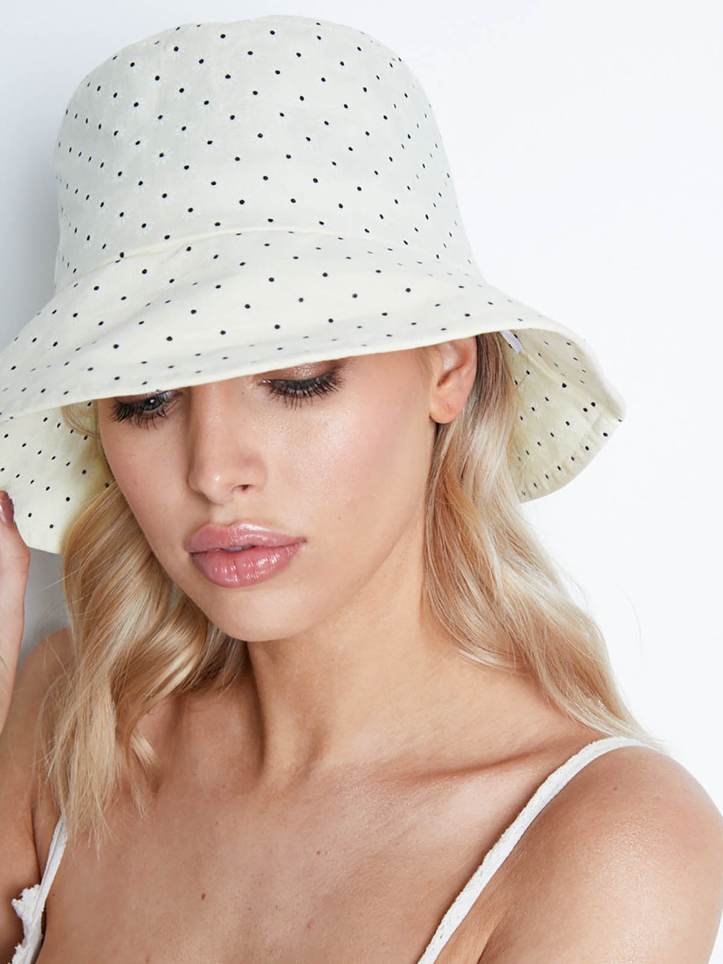 Daisy Bucket Hat-YELLOW