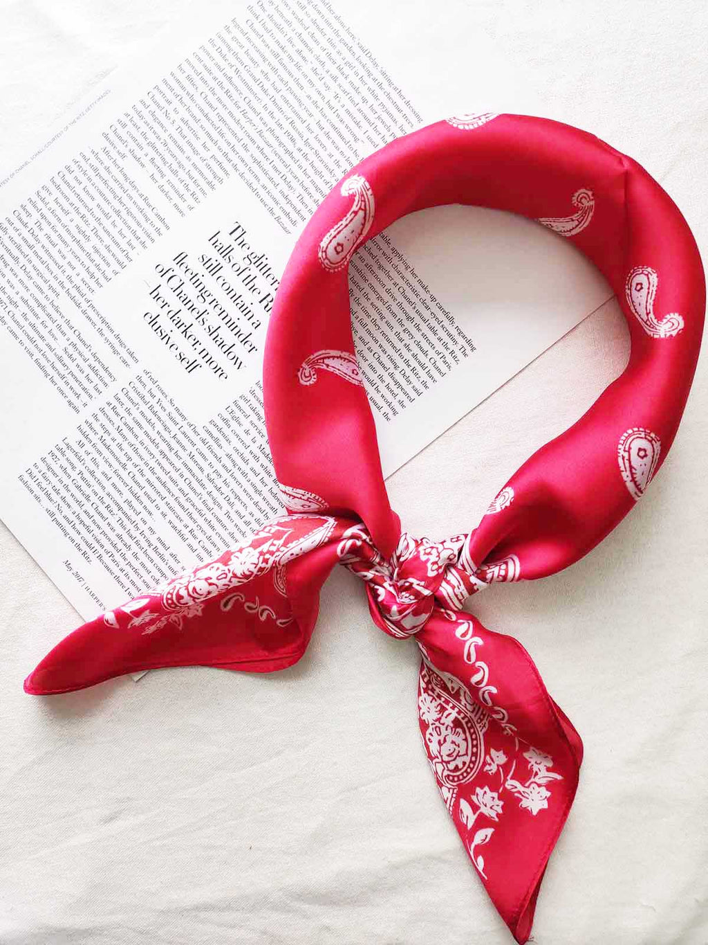 Traditional Bandana-RED - Own Kind Australia