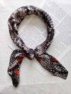 Snakeskin Bandana-Black - Own Kind Australia