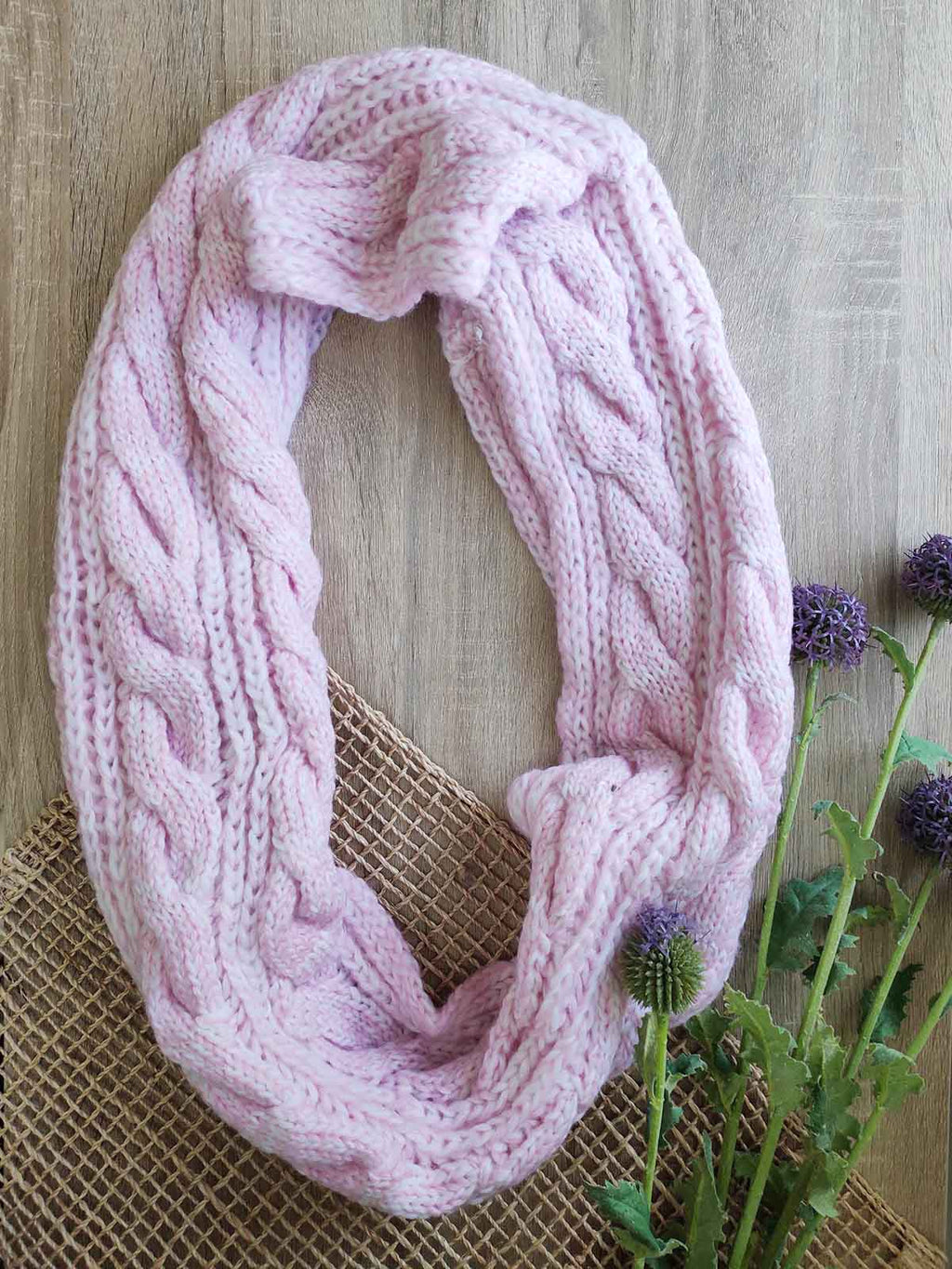 Cali Scarf-Pink - Own Kind Australia
