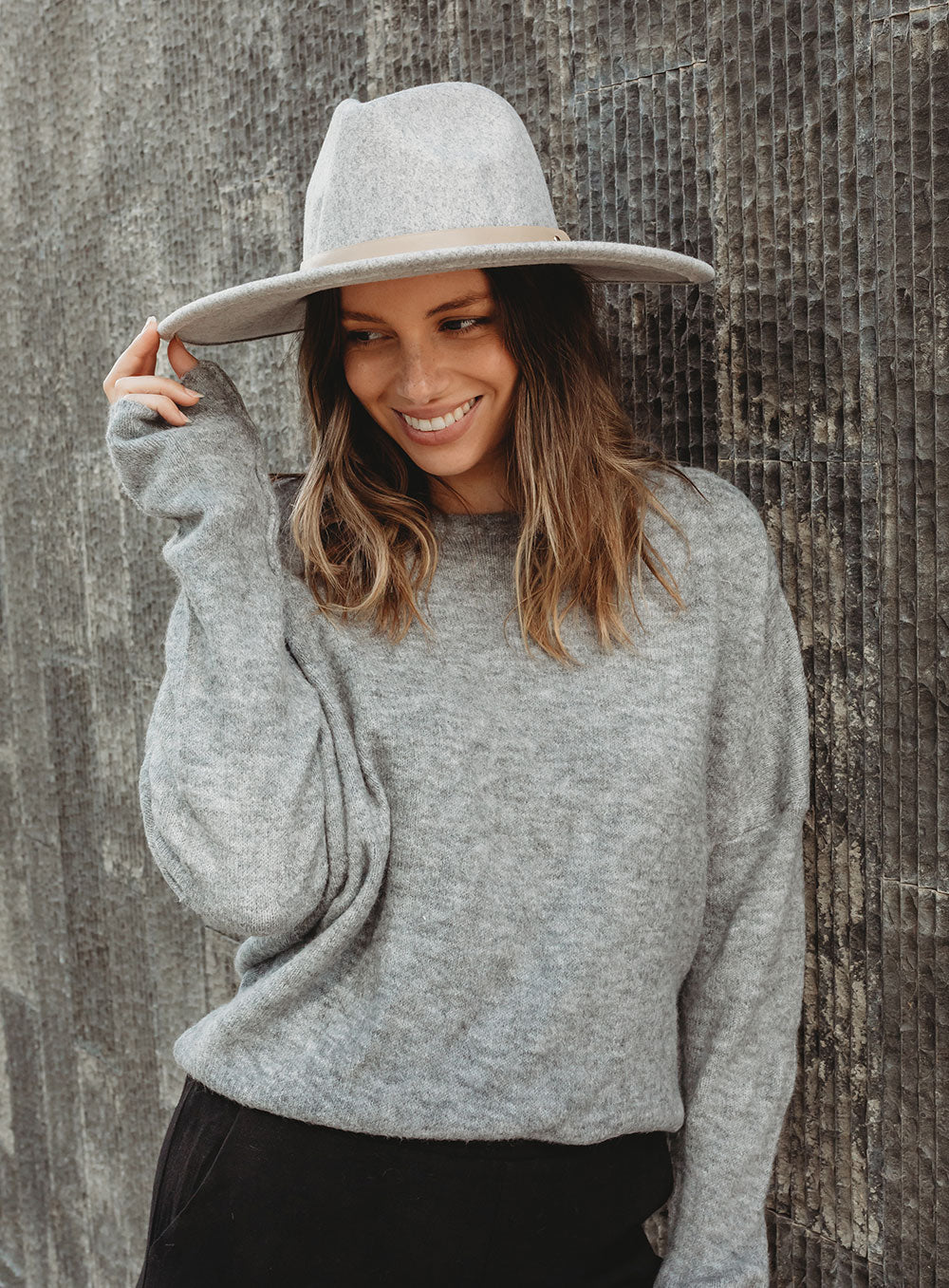Cece Hat-Grey