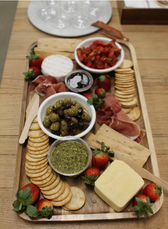 cheese platter for styling sessions