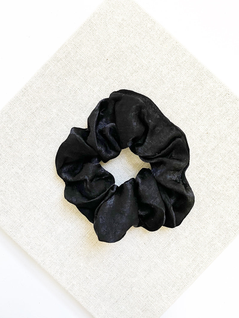 Tahlia Scrunchie-Black - Own Kind Australia