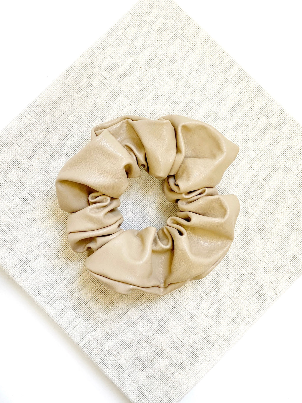 Heaven Scrunchie-BEIGE - Own Kind Australia