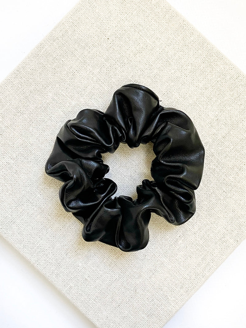 Heaven Scrunchie-Black - Own Kind Australia
