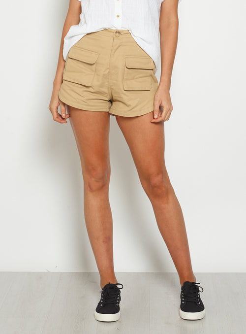 Clarity Short-TAN