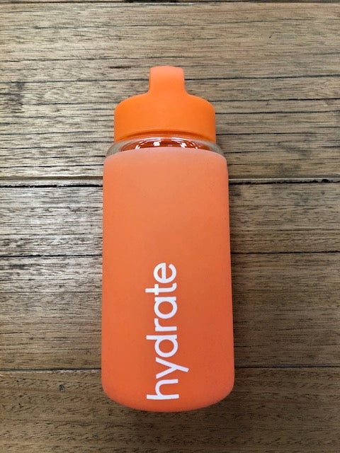 Hydrate Water Bottle-ORANGE - Own Kind Australia