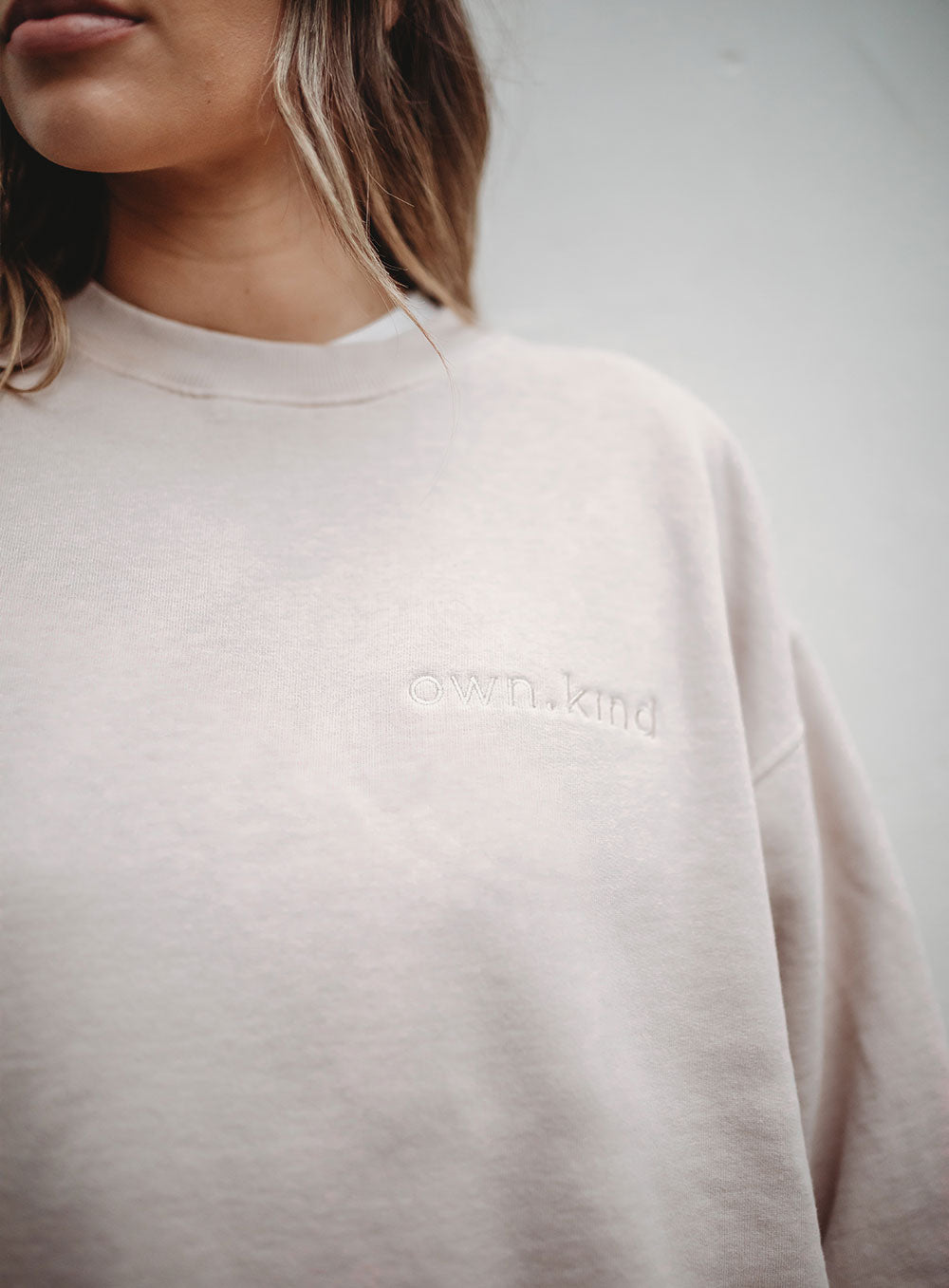 Kinsley Sweat-BEIGE