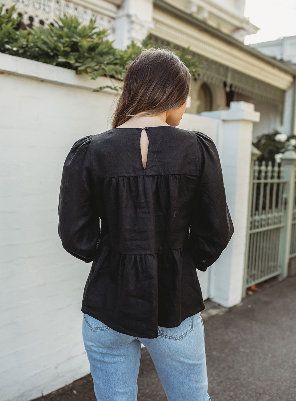 Morgan Top-Black