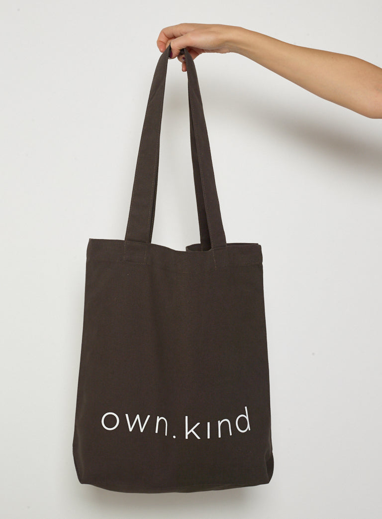 Own Kind Canvas Tote-Black - Own Kind Australia