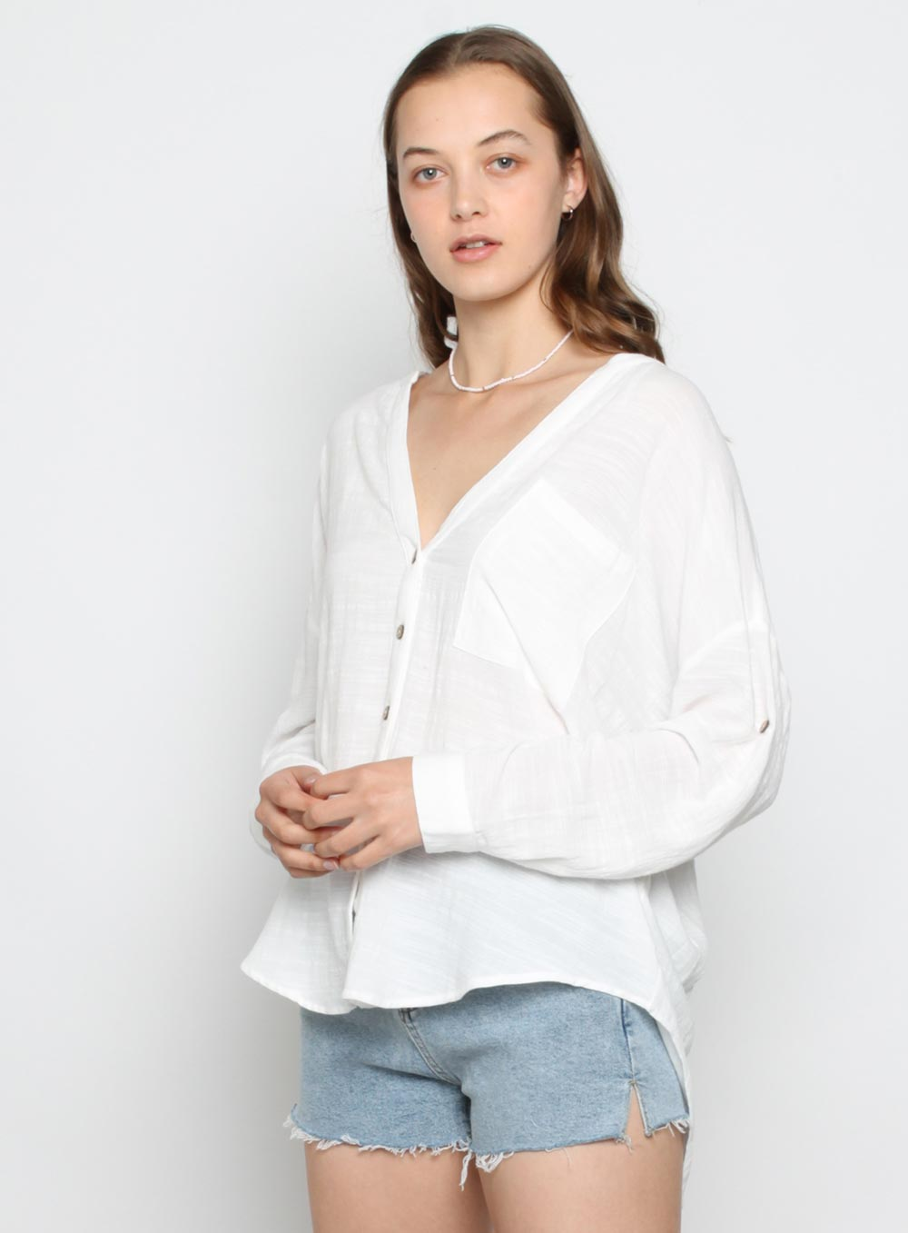 Freedom Shirt-White